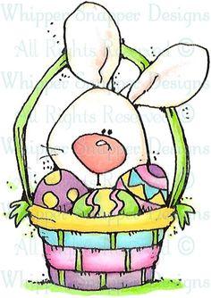 Bernadette - Easter - Holidays - Rubber Stamps - Shop