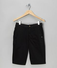 Take a look at this Black Vmonty Shorts - Boys by Volcom on #zulily today!