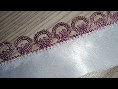 Crochet Edging Patterns, Baby Knitting Patterns, Crochet Stitches, Crochet Trim, Filet Crochet, Crochet Lace, Saree Kuchu Designs, Linens And Lace, Crochet Videos