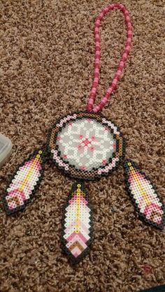 Dreamcatcher perler beads