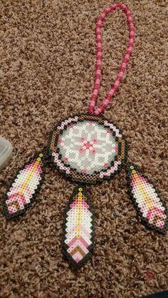 Dreamcatcher perler beads