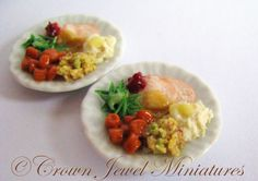 Handmade miniature Food by Robin Brady-Boxwell