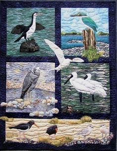 Sonya Prchal Quilt Artist and Tutor: Gallery - Birds