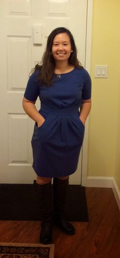 41Hawthorn Elaine 3/4 Pleat Waist Dress