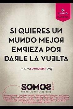 Hoy 8 de junio toca darle la vuelta al odnum!!Ponte una prenda del revés y ebircse satap abirra porque #SomosAsí http://www.somosasi.org/