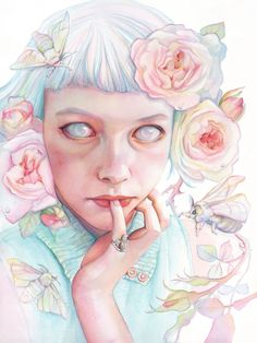 Tracy Lewis #art #pastel #illustration