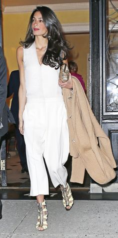 Amal Clooney's Most Stylish Looks Ever - March 27, 2015  - from InStyle.com