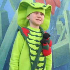 Lego Ninjago Lasha the snake inspired costume by FishbynClothing
