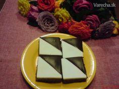 Dvojfarebné kocky (fotorecept) - Recept Rum, Anna, Sugar, Cookies, Desserts, Food, Crack Crackers, Tailgate Desserts, Deserts