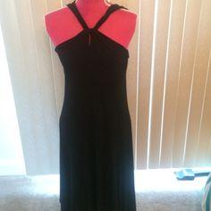 Black Michael Kors dress This dress is so beautiful and has such beautiful neck detail MICHAEL Michael Kors Dresses