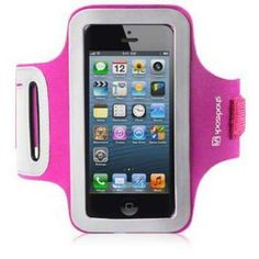APPLE IPHONE 5 ARMBAND BY SHOCKSOCK - PINK (007-095-002)  Apple iPhone 5 Armband in pink allowing you to get on with your chosen activity or just daily life. Be sure that your iPhone is always with you and always secure.