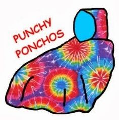 Punchy Ponchos. Wheelchair coats and jackets, bibs, covers, etc.