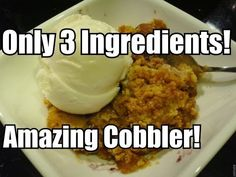 Add these 3 ingredients to a slow cooker for a warm, sweet dessert you'll love