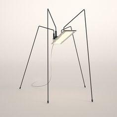 Spider Freestanding Lamp by BlackBody | WestEdge 2014