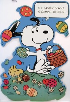 The Easter Beagle is coming to town!