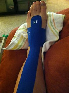 KT Tape for top of foot