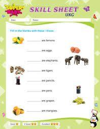 Ukg english worksheets pdf download