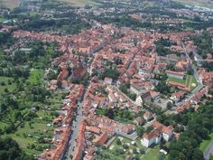Where I lived for 3 yrs!! Duderstadt, Germany from the air