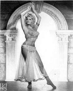Romantic vintage belly dance