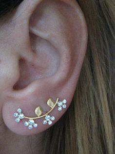 'Ear Sweep Wrap - Cuff Earring