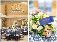 New Years Eve Butte Creek Country Club Wedding tables and flowers