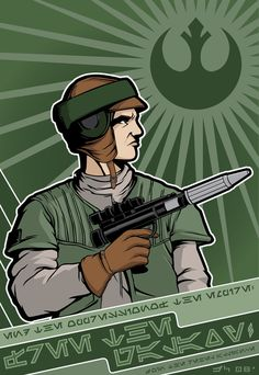 Rebel Propaganda - Scout  by ~jpc-art