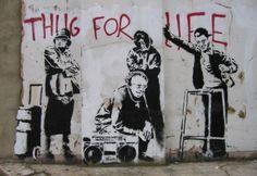 Definitieve collectie van Banksy's beste werken