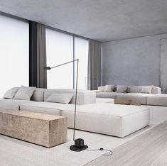 Want to Redecorate Your Living Room? Try These Simple Living Room Ideas Minimalist Interior, Minimalist Home, Modern Interior Design, Interior Architecture, Home Living Room, Interior Design Living Room, Living Room Designs, Living Spaces, Tamizo Architects