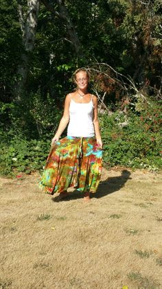 coLOr exPloSion icE DYed Skirt BOho clOtHing rainbow tie dye skirt maxi long skirt hippie clothes beach wrap swimsuit cover by LunabeanShoppe