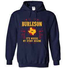 cool This guy loves his BURLESON t shirts Check more at http://cheapnametshirt.com/this-guy-loves-his-burleson-t-shirts.html