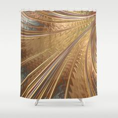 """Stop neglecting bathroom decor - our designer Shower Curtains bring a fresh new feel to an overlooked space. Hookless and extra long, these bathroom curtains feature crisp and colorful prints on the front, with a white reverse side. - One size: 71"""" (W) x 74"""" (H) - Made in the USA with 100% polyester - 12 buttonhole-top for easy hanging - Machine washable, tumble dry - Rod, curtain liner and hooks not included Bathroom Curtains, Shower Curtains, Bed N Bath, Hooks, Crisp, Tapestry, Colorful, Usa, Space"""