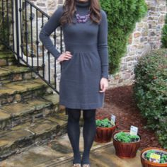Fall Sweater dress... so New England!
