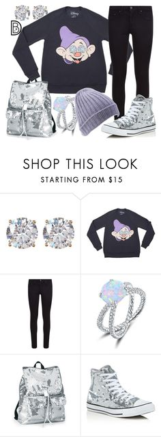 """Dopey Diamonds"" by leslieakay ❤ liked on Polyvore featuring Nordstrom Rack, rag & bone, Peermont, Converse, disney, disneybound and disneycharacter"
