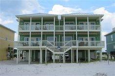 Heavenly Sunrise Orange Beach Vacation Duplex - East side Rental | 5 bed/4 bath $5562 shared streetside pool