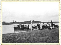 Adana, Ceyhan Nehri'nde nakliyeciler...Yıl 1905...