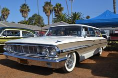 Ventura Nationals brings out all kinds of fantastic rides and today we are bringing you some more from this years show. There is more to come from this years Ventura Nationals so stick around. My Dream Car, Dream Cars, 1964 Ford, American Classic Cars, Ford Galaxie, Station Wagon, Future Car, Impala, Vintage Cars