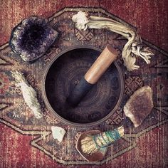 Sacred Spaces & Alters | Crystals, Smudging & Singing Bowl | Bohemian Gypsy Interior Design