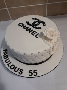 Chanel birthday cake, lemon and chocolate with chocolate cream cheese filling by PurpleCherry Taste Chanel Birthday Cake, Birthday Cakes, Birthday Parties, Chanel Cake, Chocolate Cream Cheese, Cream Cheese Filling, Cream Cake, Cake Decorating, Birthdays