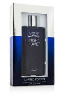 Cool Water Night Dive for Men by Davidoff EDT Spray 6.7 oz only $33.95 An oriental / green fragrance for men. Cool Water Night Dive opens with fresh mint, ocean accord, mastic, pistachio wood and watery fruits. The heart features modern and oriental notes of cashmere, black pepper and tobacco mixed with sage. The base notes include amber, musk, woods and suede. Launched in 2014.   #davidoff #StampedRecommendCollection396671882 #EauDeToilette #men #Discountperfume #freeshipping…