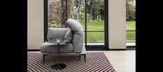 Merlino | | cierre living in leather 2017 Design, Polyurethane Foam, High Resolution Photos, Chrome Plating, Couches, Merlin, Floor Chair, Seat Cushions, Upholstery