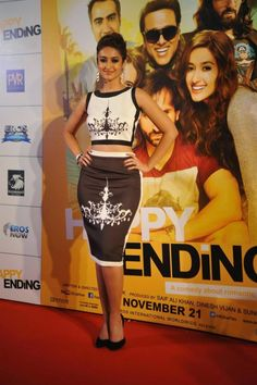 Ileana D'Cruz, Kalki Koechlin And Saif Ali Khan At Happy Ending Trailer Launch