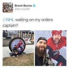 twentyonepucks:   Burnzie waiting for his All-Star...