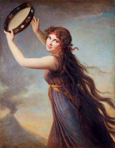 Emma Hart, Lady Hamilton by George Romney