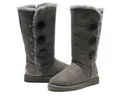 Grey Bailey Button Ugg 1873 Triplet Boots _54