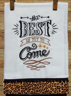 The best is yet to come... by seechriscreate on Etsy