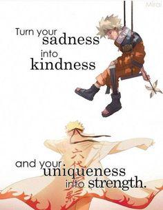 """""""Trasforma la tua debolezza in gentilezza e la tua unicità in forza"""" Cit traduzione: Quotes anime (Tradotte)"""