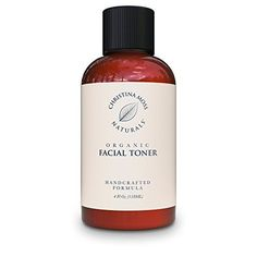 Facial Toner Organic and 100 Natural Face Toner for All Skin Types Clearing Refines Tightens Pores Hydrates Restores pH No Harmful Chemicals or GMOs Christina Moss Naturals Unscented -- You can find out more details at the link of the image. Natural Face Toner, Toner For Face, Natural Facial, All Natural Skin Care, Facial Wash, Facial Toner, Organic Face Wash, Organic Face Products, Best Face Products