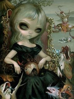 Jasmine Becket-Griffith will have new work in Jonathan LeVine Gallery's annual winter invitational, 'The Shape of Things to Come'!
