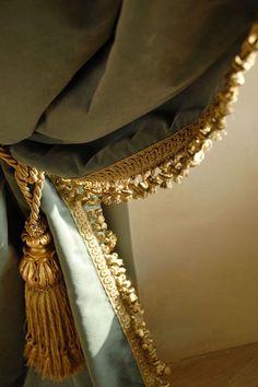 Velvet Curtain Details. #Velvet #Curtain #VelvetCurtain