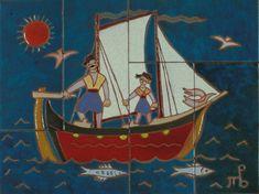 Έργα Τέχνης | Teloglion Foundation of Art A.U.Th. Sailing Ships, Foundation, Boat, Ceramics, Painting, Drop Cloths, Ceramica, Dinghy, Pottery